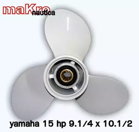 Hélice Yamaha  15 Hp  Marca Mfx - Marflex  9.1/4 X 10.5