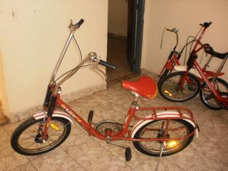 Antiga E Um Show De Bicicleta Caloi Dobravel.linda.