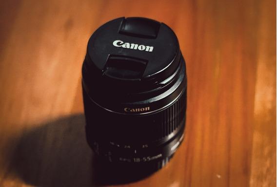 Lente Canon Ef-s 18-55mm F / 3.5-5.6 Is Stm | Apenas Foco Manual