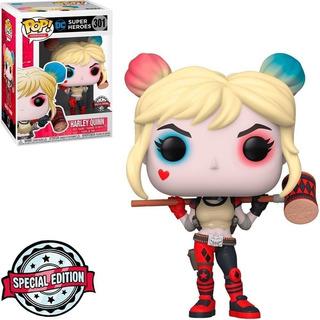Funko Pop Dc Super Heroes Harley Quinn 301 Original Cellplay