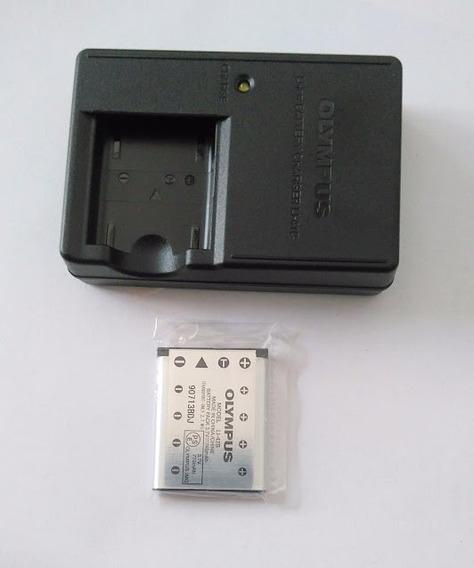 Carregador + Bateria Camêra Olympus X-935 Original
