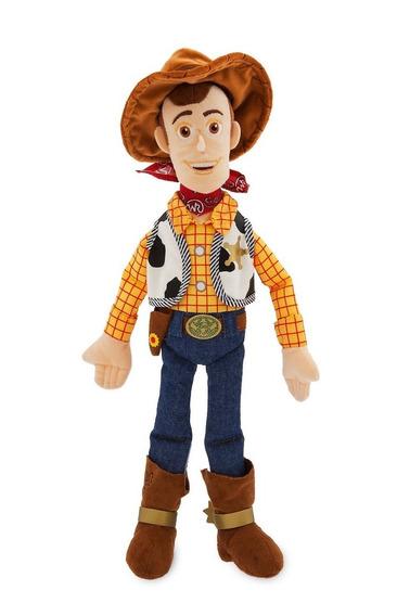 Boneco Pelúcia Woody 45cm Toy Store - Original Disney Store