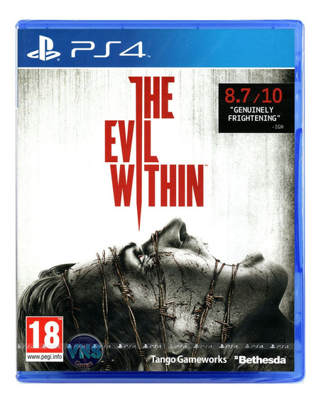 The Evil Within - Ps4 - Playstation 4 - Mídia Física - Novo