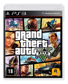 Gta 5 Ps3 Gta V Playstation 3 Grand Theft Auto Mídia Física