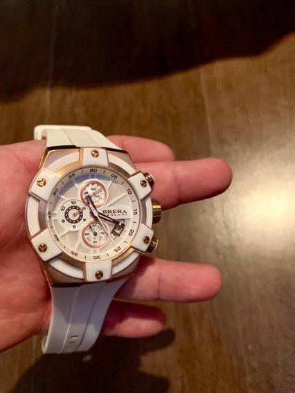Relógio Brera 100% Original Caixa Dourada