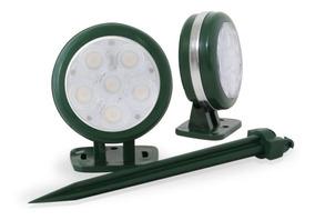 Luminária De Led Espeto 6w, Kit Com 10