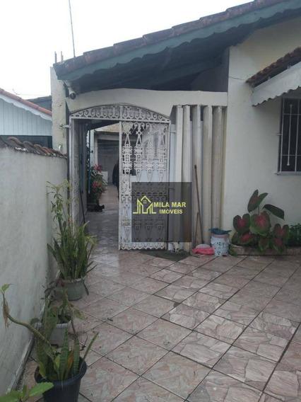 Excelente Casa Em Bairro Residencial No Jd Praia Grande/mongaguá - Ca0026