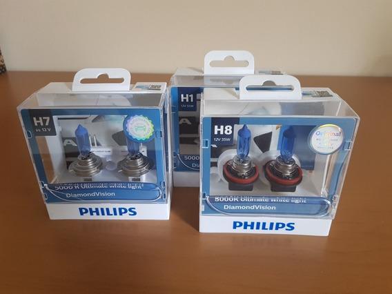 Kit Lâmpadas Philips Superbrancas Novo Polo