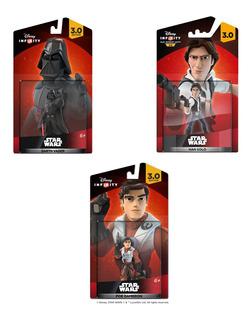 Kit Disney Infinity 3.0 Star Wars - 3 Bonecos