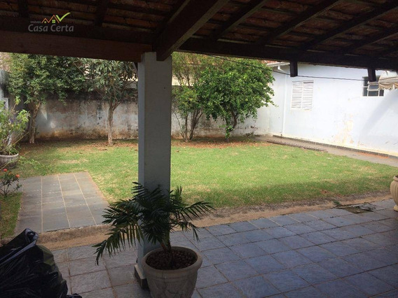 Casa Residencial À Venda, Saúde, Mogi Mirim. - Ca0573
