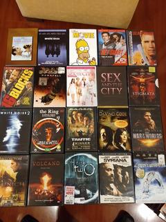 Colección Películas Dvd Originales Nuevas Y Usadas Obsequios