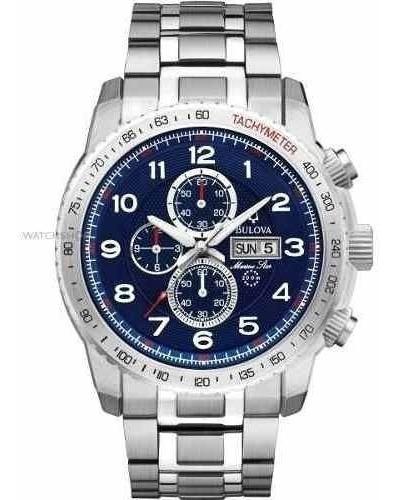 Promoção Black Week! Relógio Bulova 96c121 Original Aço