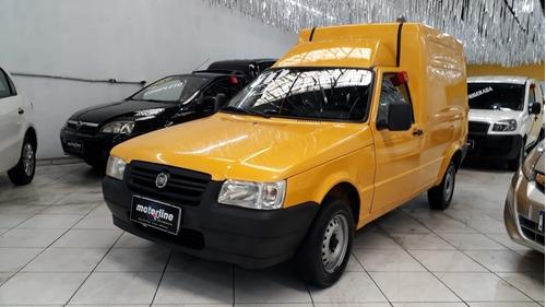 Imagem 1 de 11 de Fiat Fiorino 1.3 Flex 2011 Amarela Refrigerada Super Novo