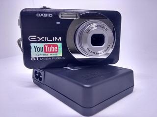 Camara Digital Casio Exilim 8.1 Mpx Funcionando Operativa
