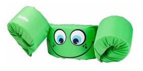 Puddle Jumper Basico Verde Flotador Chaleco Niños Coleman