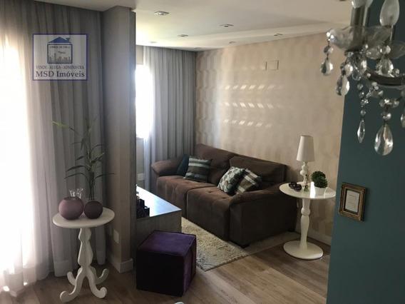 Apartamento A Venda No Bairro Parque Vila Maria Em São - 1698-1