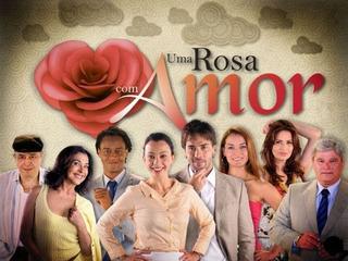 Novela Uma Rosa Com Amor Completa Em Dvd - Frete Grátis