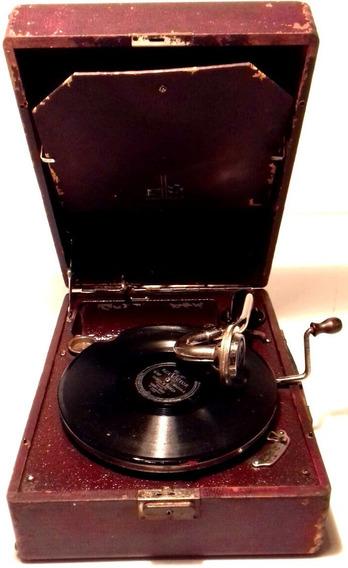 Gramofone Antigo Paillard Gramofola Vitrola Anos 20