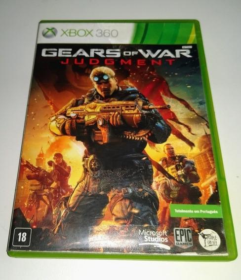 Jogo Game Gears Of War Judgment Xbox 360 Usado