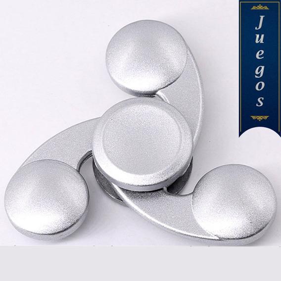 3 Fidget Hand Spinner Metal Rehilete Anti Estres (tres)