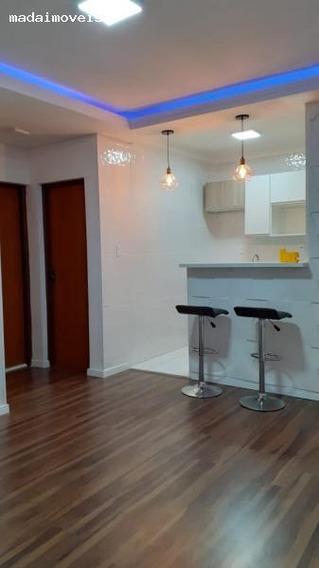 Apartamento Para Venda Em Mogi Das Cruzes, Vila Nova Aparecida, 2 Dormitórios, 1 Banheiro, 1 Vaga - 2246_2-955964
