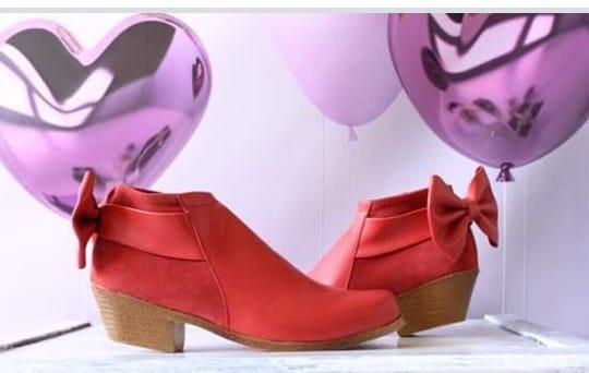 Zapato Dama Moño Moda Invierno 2019 Fabrica Directo
