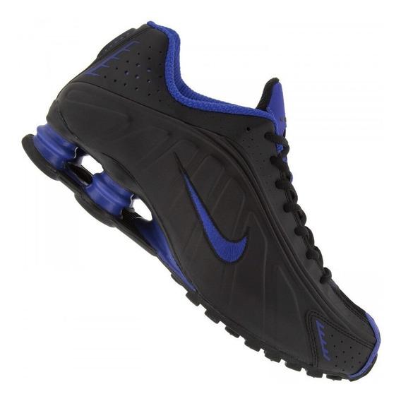Tênis Nike Shox R4 Prata/preto Original