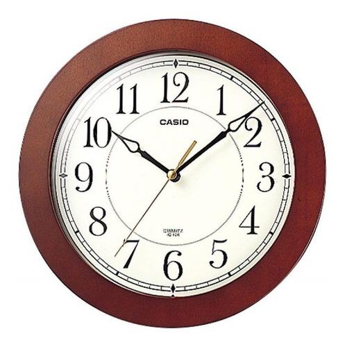 Reloj Pared Casio Iq126 Silencioso 100% Original Marcomadera