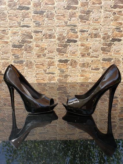 Zapatos Stilettos Charolados Usados