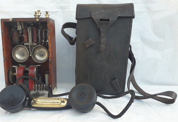 Telefono Militar De Campaña Ejercito Argentino Antiguo