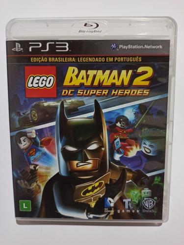 Lego Batman 2 Dc Super Heroes - Mídia Física - Ps3