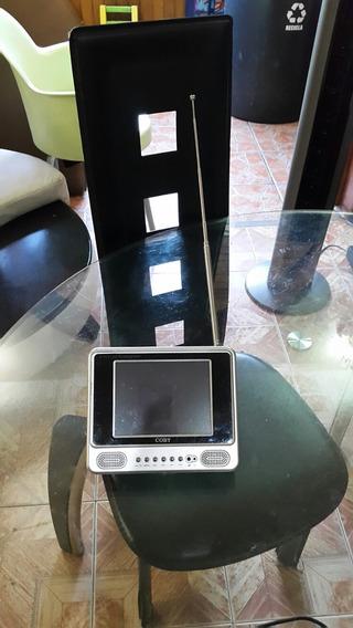 Televisor Portatil De 5 Pulgadas Marca Coby A Color Con Carg
