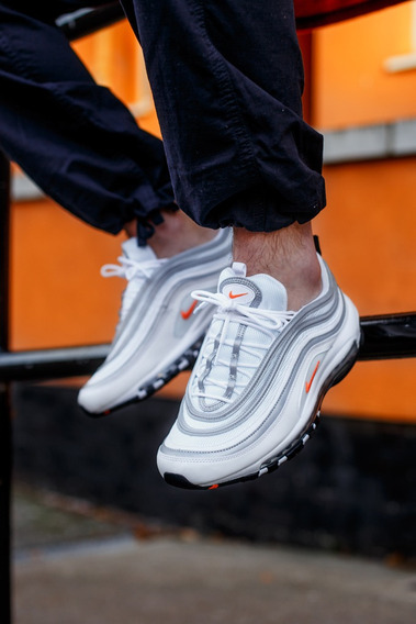 Nike Ultra 97 Cone White Orange