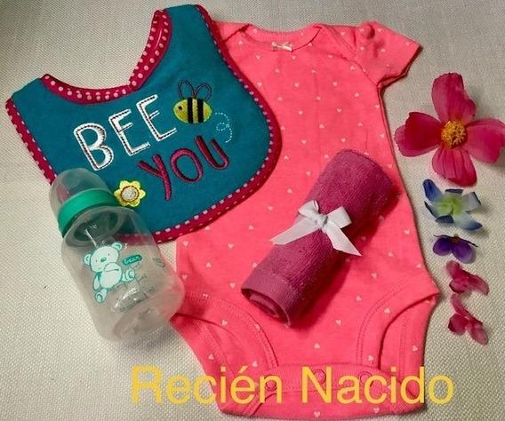 Body Recien Nacido - Babero - Toallita - Tetero