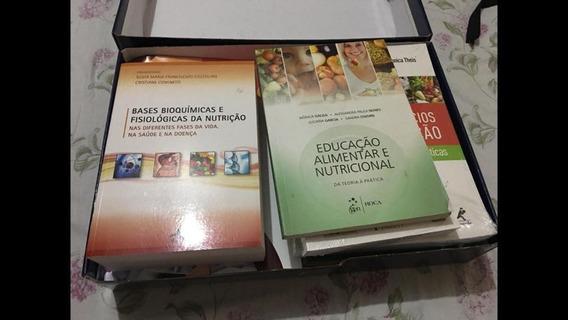 Kit De Nutrição 12 Livros