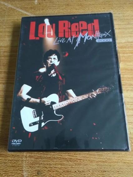 Dvd Lou Reed - Live At Montreux 2000 - Lacr. De Fábrica