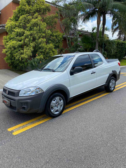 Fiat Strada 1.4 Hard Working Cab. Dupla Flex 3p 2019
