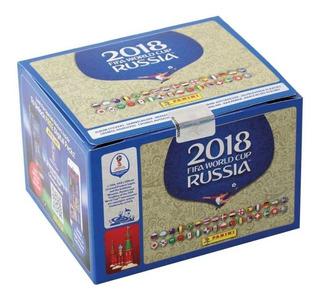 Album Panini Caja Con 100 Sobres Mundial Rusia 2018