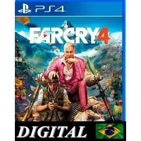 Far Cry 4 Dublado Ps4 Midia Digital 2ª Farcry 4