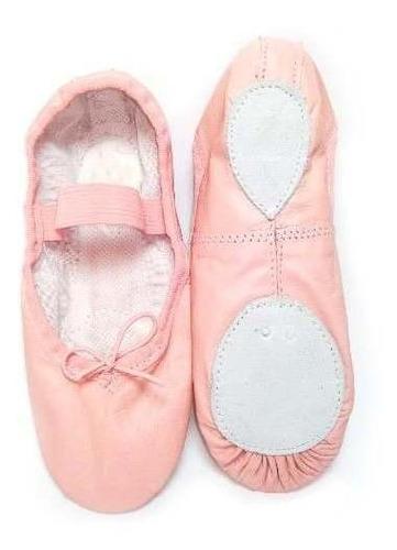 Zapatillas Ballet Cuero Natural Exelente Calidad
