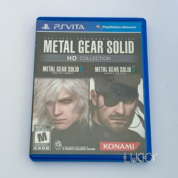 Metal Gear Solid Hd Collection - Psvita!