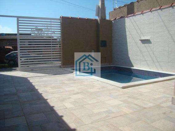Casa Residencial À Venda, Parque Balneário Oásis, Peruíbe. - V57658419