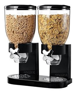 Dispensador Despachador De Cereal Doble Cocina Negocio Mn4