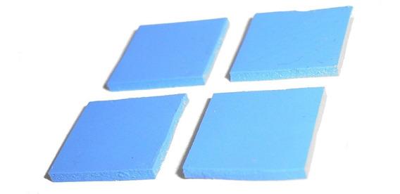 Pad Termico De Silicona Para Disipador Calor 10x10x1mm X 4u