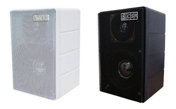 Caixa De Som Csr 75m (unidade) - Branca Ou Preta