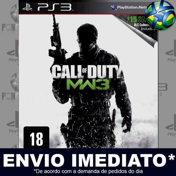 Call Of Duty Modern Warfare 3 Ps3 Psn Jogo Em Promoção