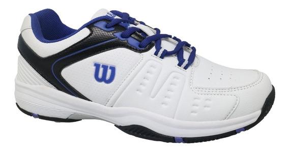 Zapatillas Tenis Wilson Hombre Game Men Polvo Cemento Competencion Juego