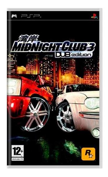 Midnight Club 3 Dub Edition Psp Mídia Física Pronta Entrega