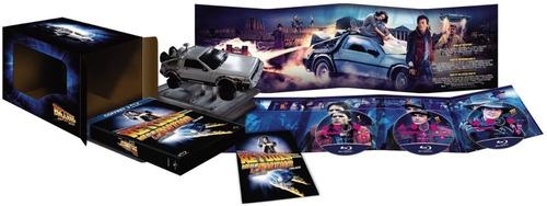 Volver Al Futuro Trilogía Box Set Delorean 25 Aniversario