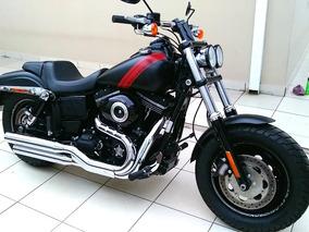 Harley Davidson Fat Bob 2016 Com 2000km Apenas